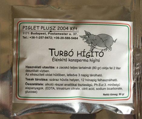 TURBO energizáló sertés sperma hígító 2 literes kiszerelés