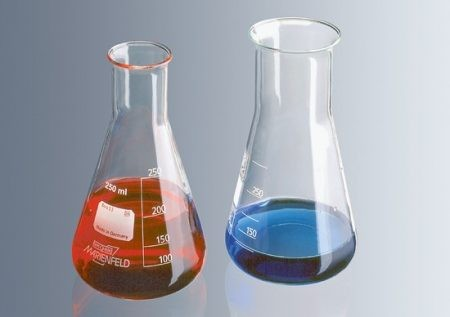 Erlenmeyer lombik 250 ml, szűk
