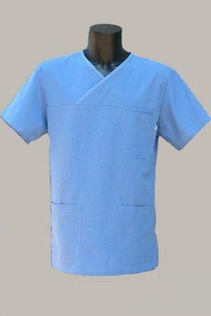 Műtős ing kék S