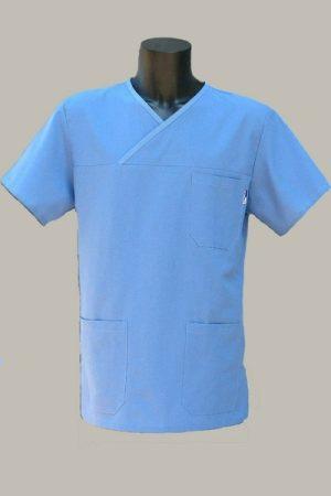 Műtős ing kék L