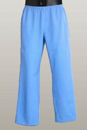 Műtős nadrág kék L