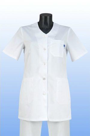 Orvosi tunika V fehér S