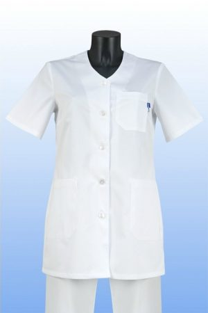 Orvosi tunika V fehér L