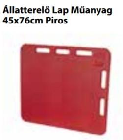Állatterelő Lap Műanyag   45x76cm Piros