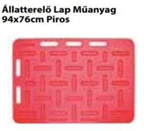 Állatterelő Lap Műanyag   94x76cm Piros