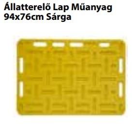 Állatterelő Lap Műanyag   94x76cm Sárga
