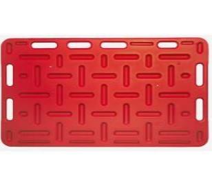Állatterelő Lap Műanyag 126x76cm Piros